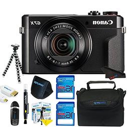 Canon PowerShot G7 X Mark II Digital Camera + Pixi-Basic Acc