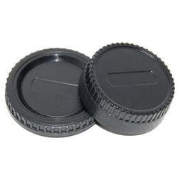 CowboyStudio Body Cap and Lens Rear Cap for Sony E-Mount NEX