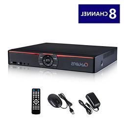 CANAVIS 8 Channel 720P 1080N CCTV DVR Hybrid AHD DVR  Standa