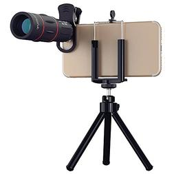 Cell Phone Camera telephoto Lens, 18X Zoom Telephoto Univers