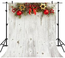 OUYIDA 10X10FT Seamless Christmas Theme Pictorial Cloth Cust