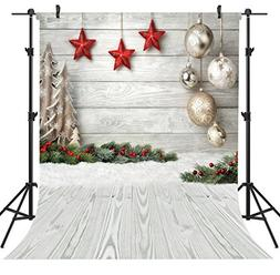 OUYIDA Christmas Theme 6X9FT Seamless CP Pictorial Cloth Pho