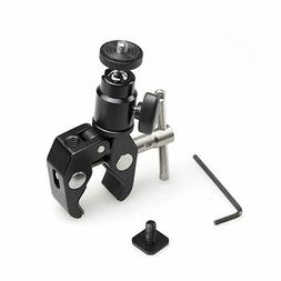 SmallRig Clamp Mount with Ball Head Mount Hot Shoe Adapter a