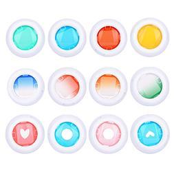Sunmns Close Up Color Lens Filter Set for Fujifilm Instax Mi