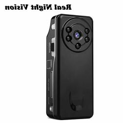 Conbrov Spy Cameras DV12 720P Night Vision Mini Hidden Body