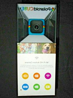 """Polaroid Cube HD Action Video Camera with Wi-Fi - Blue """"NEW"""""""