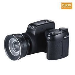 D7200 Digital Cameras Video Camcorder 33MP Wide Angel & Tele