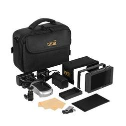 "Ikan DH5e 5"" On-Camera Field Monitor Deluxe Kit, Includes BP"