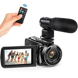 Andoer Digital Video Camecorder FHD 1080P Video Camera Infra