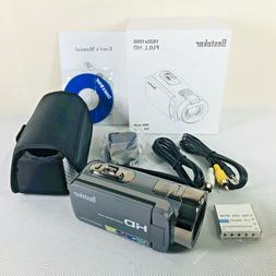 Digital Video Camera Camcorder HD 1080P 24 MP 16X Digital Zo
