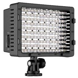 Neewer Dimmable 216 LED Video Light with 2 Filters for DSLR