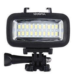 Andoer 700LM Diving Video Fill-in Light LED Lighting Lamp Wa