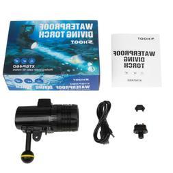Diving Flashlight 1500LM Submersible Spotlight Video Camera