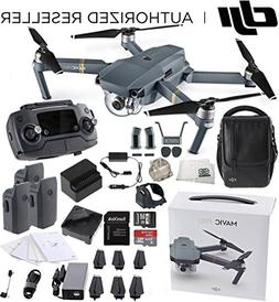 DJI Mavic Pro Fly More Combo Collapsible Quadcopter Drone Bu