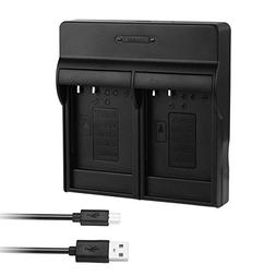 CCYC DMW-BLG10, DMW-BLE9 Dual USB Charger for Panasonic DMW-
