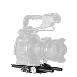JTZ DP30 Camera Cage with 15mm Rail Rod Baseplate Rig and El