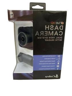 Cobra Drive HD Dash Cam DASH2316D with iRadar Featuring 1080