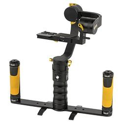 Ikan DS1-DGH-KIT Kit with DS1 Beholder Gimbal & Dual Grip Ha