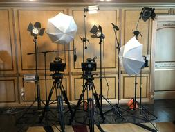 Dual Camera Video Studio Equipment Package
