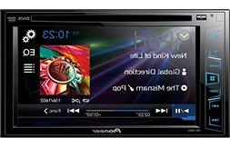 Pioneer DVD/CD/USB Receiver with 6.2 DOUBLE-DIN Touchscreen