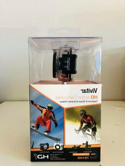Vivitar DVR 781HD Action Camcorder 5.1 MP. W/waterproof casi