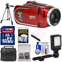 Vivitar DVR 960HD 1080p HD 12x Optical Zoom Video Camera Cam