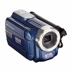 Vivitar DVR508NHD-BLU DVR-508 4X Digital Zoom Video Recorder