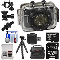 Vivitar DVR785HD Waterproof Action Video Camera Camcorder  w