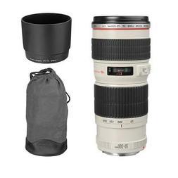 EF 70-200 mm f/4L IS USM Telephoto Zoom Lens