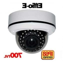 Sony Effio-e 700tvl Ip68 Ir Dome w/ Atr/dnr/ Vandal Proof/ N