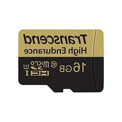Transcend High Endurance 16 GB microSDHC