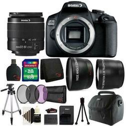 Canon EOS 2000D 24.1MP DSLR Camera + 18-55mm Lens + 8GB Acce