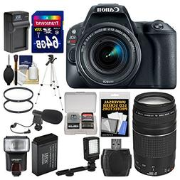Canon EOS Rebel SL2 Wi-Fi Digital SLR Camera & 18-55mm is ST