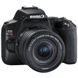 Canon EOS Rebel SL3 DSLR 24.1MP 4K Video Camera + EF-S 18-55