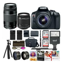 Canon EOS Rebel T6 SLR Camera: 18 Megapixel 1080p HD Video B