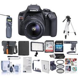Canon EOS Rebel T6 Digital SLR Camera Bundle with EF-S 18-55
