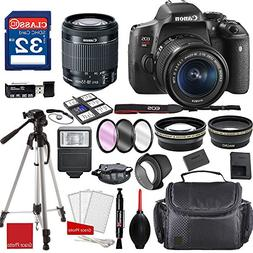 Canon EOS Rebel T6i DSLR Camera w/ EF-S 18-55mm f/3.5-5.6 IS