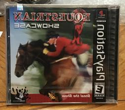 Equestrian Showcase  PS1 Brand New Factory Sealed!