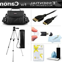 Essential Kit For Canon VIXIA HF R82, R80, HF R800, HF R62,