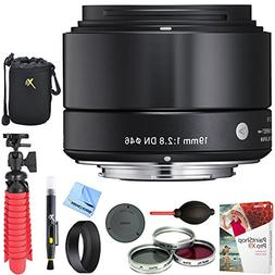 Sigma 19mm F2.8 EX DN Art E-Mount Lens for Sony Black  with