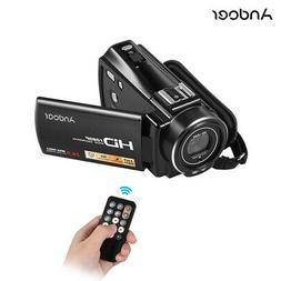 "#US Stock Andoer 1080P 3.0"" Full HD 24MP 16X Zoom Digital Vi"