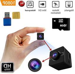 FabQuaity Waterproof Mini Camera SQ12 HD + 16GB Sport Action