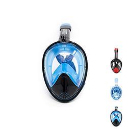 KyRush It Full Face Snorkel Mask | 180° Panoramic Views wit