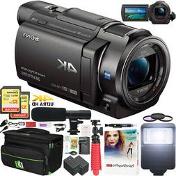 Sony FDR-AX33 4K Ultra HD Handycam Camcorder FDRAX33 Wi-Fi V