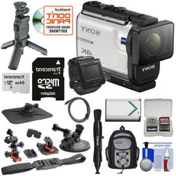 S0ny FDR-X3000r 4K Action Camera with Live-View Remote