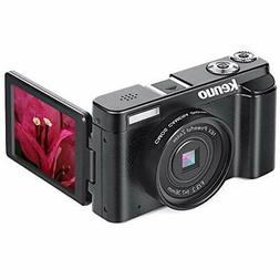 KENUO FHD 1080p Video Camera Camcorder MAX 24.0MP 3.0 Inch V
