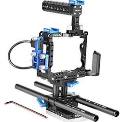 Voking Film Movie Making Rig Camera Video Cage Kit include: