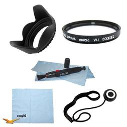 52 mm filter Kit Multicoated UV Protective Filter Hard Lens