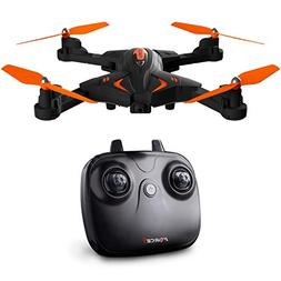 Force1 Foldable Drone with Camera Live Video with 720p HD Dr