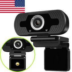 Full HD 1080P Webcam Video Camera With Microphone USB for PC